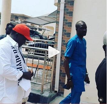 Saheed Osupa Visits Sunday Igboho