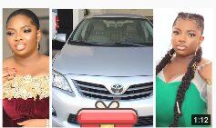 Dorathy BBnaija buys car for her sister as gift for birthday