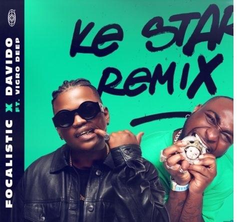 ke star (remix) ft davido mp3 download