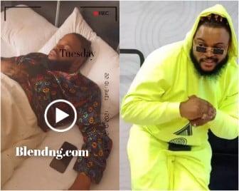 Whitemoney Bbnaija Season 6 Winner Hospitalized In Lagos